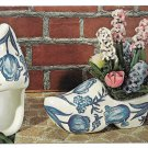 Dutch Delft Planters Advertising Postcard for Craft Kit National Handcraft Iowa
