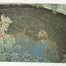 Mexico Chichen Itza Yucatan The Sacred Well Vintage Postcard