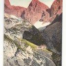 Switzerland Tirol Alps Dolomites Rosengartengruppe Vntg Postcard