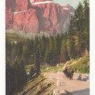 Austria Alps Tirol Canazei Dolomitenstrasse Pordoi Pass Vintage Postcard