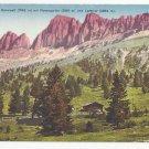 Italy Alps South Tyrol Karerpass Rosengarten Vntg Postcard