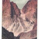 Italy Alps Tirol Molignon Pass Rosengartengruppe Vintage Postcard