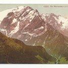 Italy Tirol Alps Marmolata von d. Rodella aus Vntg Postcard