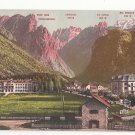 Italy Alps Tirol Toblach Toblachersee Ampezzotal Vntg Postcard