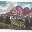 Italy Alps Dolomiten Sudtirol Regensburger Hutte Vntg Postcard