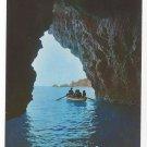Italy Taormina Mare Sicily Blue Grotto Vntg Postcard 4X6