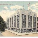 York PA Bon Ton Department Store Vintage Postcard Used