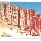 Utah Bryce Canyon National Park Wall of Windows Postcard 4X6