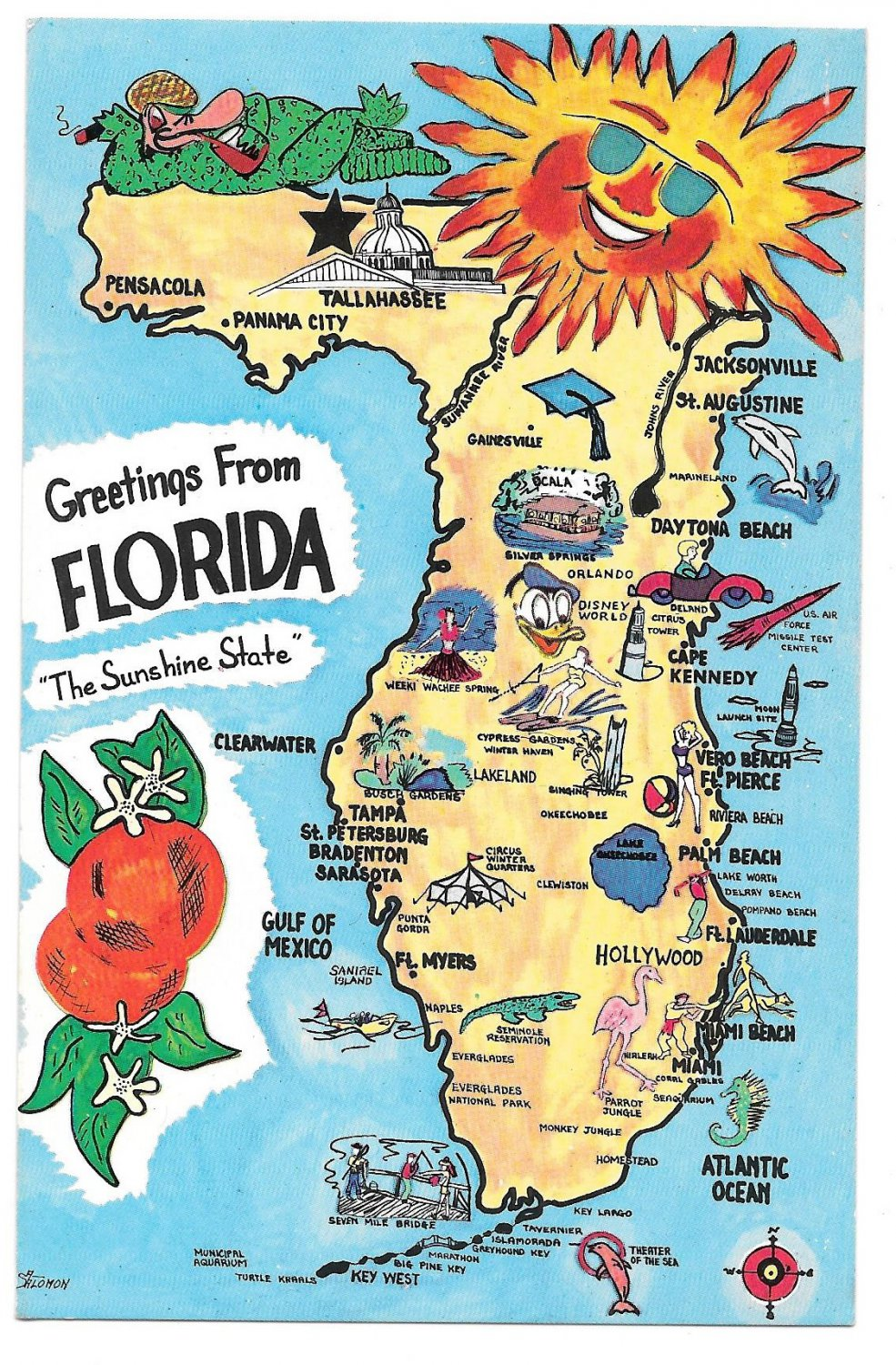 TopRated Tourist Attractions In Orlando PlanetWare Map Of - Florida map cape coral