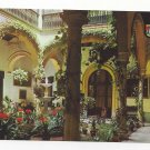 Spain Seville Andalusian Court Garden Patio Vintage Sevilla Postcard 4X6