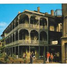 LA New Orleans Labranche Building French Quarter Vintage Postcard 4X6