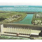 NY Niagara Power Project Hydroelectric Dam Vintage New York Postcard 4X6e Postcard 4X6