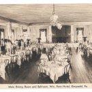 PA Gwynedd Wm Penn Hotel Dining Room Ballroom Vintage Postcard