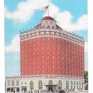 Niagara Falls NY Hotel Niagara Vintage Linen Postcard