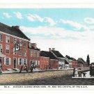 York PA Historic Scene No. 4 Gen John Clark Building Vintage Postcard