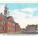 York PA Historic Scene No. 2 Colonial Court House Capitol of US Vntg Postcard