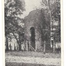 VA Jamestown Old Church Tower First Settlement Vntg Postcard