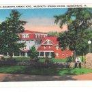 VA Harrisonburg Massanetta Springs Hotel Station Vintage Postcard