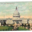 Washington DC Capitol Front View 1911 Vintage Postcard