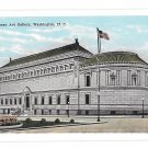 Washington DC Corcoran Art Gallery Vintage Garrison Postcard