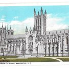 Washington DC Cathedral Vintage B S Reynolds Postcard