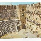 Turkey Antalya Aspendos Theatre Interior Roman Ruins Vintage Postcard 4X6