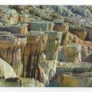 Turkey Pamukkale Travertine Calcium Rock Formations Postcard 4X6