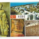 Turkey Side Museum Multiview Hercules Greek Artifact Vtg Postcard 4X6