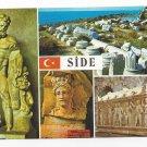 Turkey Side Museum Multiview Hercules Greek Artifact Vtg Postcard 4X6