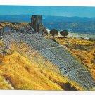 Turkey Bergama Izmir Acropolis Theatre Greek Ruins Postcard 4X6