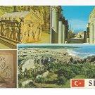 Turkey Side Multiview Classical Greek Ruins Museum Vtg Postcard 4X6