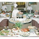 Sterling Hotel Smorgasbord Wilkes Barre PA Chefs Buffet Vtg Advertising Postcard