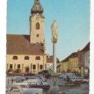 Austria Hartberg Church Mary Column Styria Vintage Postcard 4X6