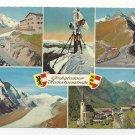 Austria Alps Multiview Grossglockner Hochalpenstrasse Vntg Postcard 4X6