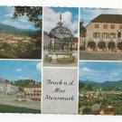 Austria Styria Bruck an Der Mur Steiermark Multiview Postcard 4X6