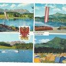 Austria Kitzbuhel Schwarzsee Tyrol Alps Vintage Multiview Postcard 4X6