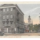 York PA Odd Fellows Hall IOOF King & George St Vintage Fair and Square Vtg Postcard