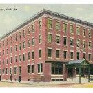 York PA Hotel Penn1913 Postcard bouton & Co Publ