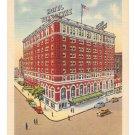 York PA Hotel Yorktowne Vintage Linen Postcard 1949