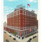 York PA Yorktowne Hotel Vintage Postcard Curteich