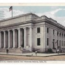 York PA New Post Office Vintage 1919 Postcard Fair and Square