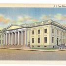 York PA US Post Office Vintage Linen Postcard