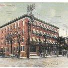 York PA Hotel Penn Telephone Poles Vintage 1910 Wallick's Postcard