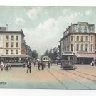 York PA No. George St Trolleys HB Beard Co Herz Bros Vintage Rotograph Postcard