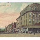 York PA North George St Spahr Building Vintage Postcard