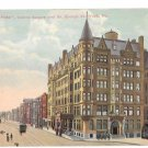 York PA Colonial Hotel Centre Square So George St Vintage Postcard 1915