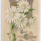 Vintage Easter Postcard Embossed w Gold details Germany 1912