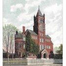 York PA Collegiate Institute Vintage 1907 Postcard College