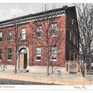 York PA York County Academy Vintage 1908 Postcard ANC Polychrome
