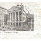 York PA Court House Vintage UDB Postcard L B Herr Print